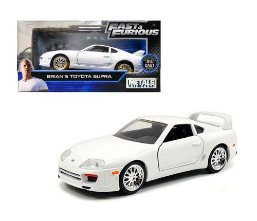 Brian´s Toyota Supra blanco