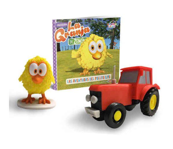 pollito amarillo - tractor